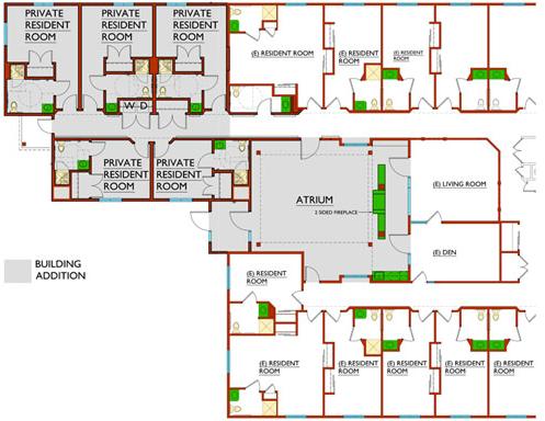 Partial Floor Plan