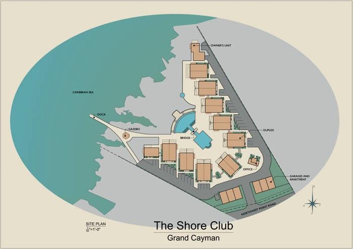 Shore Club Grand Cayman Site Plan