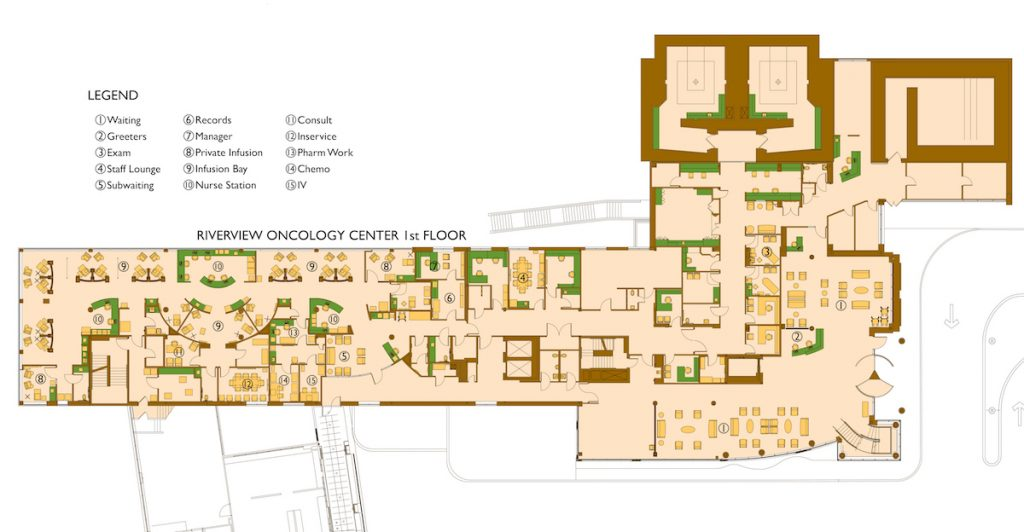 Riverview Oncology Center Bkt Architects